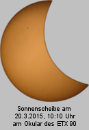 Sonnenfinsternis am 20.3.2015, ETX90